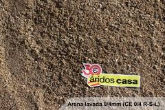 Arena lavada 0/4 (CE 0/4 R-S-L)